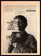 1964 Keystone Camera Boston Massachusetts Load-A-Matic Movie Vintage Print Ad