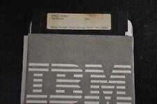 IBM SPACE GAMES Software 5.25 Media