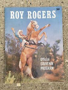 Vintage Roy Rogers Official Souvenir Program