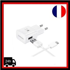 Chargeur mural + Cable Type C EP-TA20EWE SAMSUNG ORIGINAL Galaxy S8/ S8 Plus