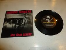 "MOVING TARGETS - Less Than Gravity - 1987 Australia 2-track 7"" Vinyl Single"