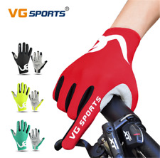 VG Sports Cycling Full Finger Gloves Touch Screen Non-Slip Breath 4 Colors S-XXL