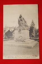 BEAUVAIS LE CIMETIERE MONUMENT DU SOUVENIR FRANCAIS PAR MAURICE CHARPENTIER 1919