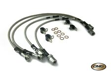Ford Fiesta Mk3 90-96 Goodridge Stainless Cl Text Brake Hoses SFD0105-4C-CLG