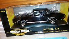 Ertl/GS Club 1/18 1970 Buick GS 455 - Regal Black *1/803*