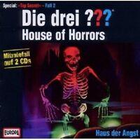 "DIE DREI ??? ""HOUSE OF HORRORS-HAUS DER ANGST"" 2 CD NEU"