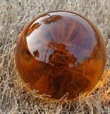 Asian Rare Natural Quartz yellow Magic Crystal Healing Ball Sphere 40mm +Stand.