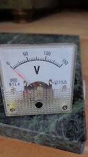 Analog Voltage panel meter 150  (also have 300v L@@K