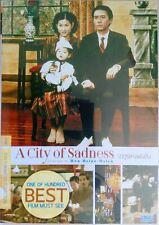 a City of Sadness (1989) DVD R0 - Tony Leung Shu-fen Hsin HK Taiwan Drama