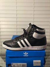 Adidas Original Top Ten Hi Black / White Mens Shoe US 13