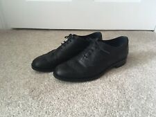 Tod's Black Leather Brogues Size 4