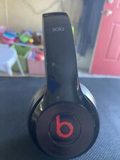 Beats By Dr. Dre Solo2 Wired Headphones Over The Ear Earphones Black
