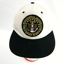 53rd Presidential Inauguration 1997 Ivory Snapback Hat Clinton Gore Vintage