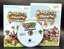 """Nintendo Wii juego """"Harvest Moon Magical Melody"""" completamente"""