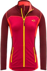Kari Traa Damen Sweater Sweat Tracktop Gr.XS (DE 34) Sport Fleec-Futter 113084