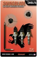 Firenock Swing Blade Aerodynamic Mechanical Broadhead (3-Pk) Falcon
