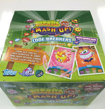 Topps Moshi Monsters Code Breakers Card Game Box(50 pks)+ Official Album