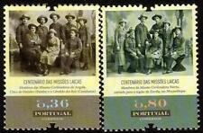 PORTUGAL MNH 2013 100TH ANV OF THE LAY MISSIONS IN AFRICA SET OF 2