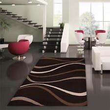 Brown Beige Modern Rug Large Floor Mat Carpet City 7411