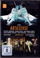2.DVD VINCI: ARTASERSE Philippe Jaroussky Max Emanuel Cencic Fagioli FASOLIS Neu