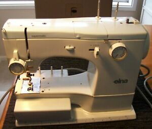 Vintage Elna Supermatic 62c Sewing Machine in beautiful condition.