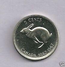 Canada 1867-1967  5 cent