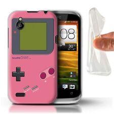 Étuis, housses et coques roses HTC Desire X pour téléphone mobile et assistant personnel (PDA) HTC