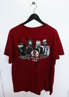 Vtg 2011 Motley Crue Tour T-Shirt Size (L)