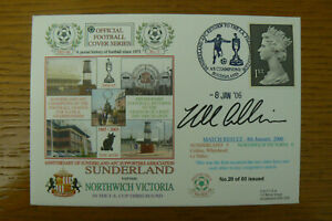 2006 DAWN SUNDERLAND FDC V NORTHWICH FA CUP SIGNED NEIL COLLINS