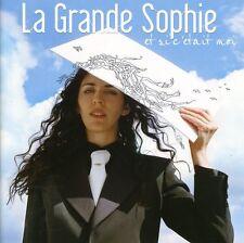 La Grande Sophie - Et Si C'etait Moi [New CD]