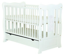 """NEW BABY COT /BABY BED WITH DRAWER/JUNIOR BED """"KAREN """" + SELECTION OF MATTRESS"""