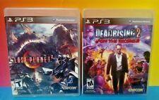 Lost Planet 2 Dead Rising 2 Off Record Game Lot - PS3 Sony Playstation 3 Tested