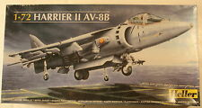 "U.K. Hawker Harrier II, AV-8B ""Jump Jet"" 1/72 Airplane Model Kit"