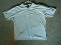 Augusta Masters Collection Men's Size XL White Short Sleeve Golf Polo Shirt