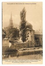 thann  la tour des sorcières et le clocher de l'église