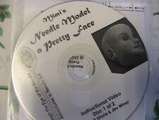 """NEEDLE MODEL A PRETTY FACE~Gloria """"Mimi"""" Winer RARE 2-CD-SET~cloth doll pattern"""