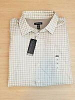 Van Heusen XL (17-17.5) Men's Button Down No Iron Shirt NWT