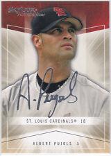 ALBERT PUJOLS Skybox AUTOGRAPHICS Auto Sigs BASEBALL CARD Cardinals Angels 3000!