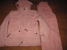 Scott Freestyle Women's Ski Jacket & Snow Pants Set Tantrum Pink Red Size S NEW