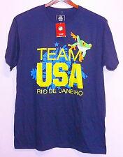 NWT Team USA Rio De Janeiro Tree Frog T Shirt Blue S