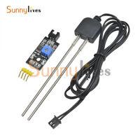 Soil Humidity Hygrometer Moisture Detection Sensor w/ Corrosion Resistance Probe