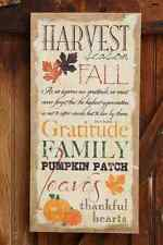 SALE /Country new FALL HARVEST new Burlap wall print /Family / nice