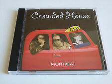"""UBER RARE CROWDED HOUSE FAN CLUB CD """"TAXI - MONTREAL"""" LIVE IN MONTREAL 1991"""