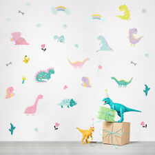 49 Aufkleber Dinosaurier Cartoon DIY Wandtattoo Kaktus Knochen Sticker Tattoo