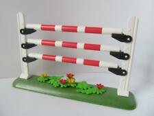 Playmobil Farm/stables/horse riding show: Fence jump NEW