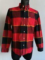 Hollister California mens cotton long sleeve check shirt size S