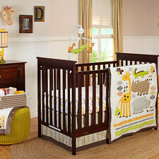 Zoobilee Pakage 7 Piece Crib Bedding Set (w/ Bumper, Mobile & Blanket) by NoJo
