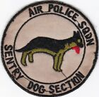 USAF Air Police Squadron K-9 Sentry Dog Section K-9 V-2 Patch .#7