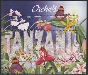 Tanzania   2004   Sc # 2318a-f   Orchids   Sheet of 6   MNH   (55735)