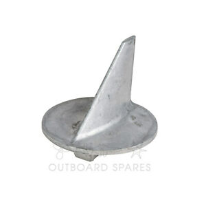 A New Mercury Mariner Alum Trim Tab Anode for 40hp to 200hp Outboard # 31640T07